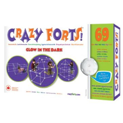 CRAZY FORTS - GLOW-IN-THE-DARK