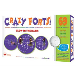 CRAZY FORTS - GLOW-IN-THE-DARK (9503.00.0090 CA)