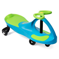 PLASMA CAR - FULL COLOUR BOX UNASSML'D AQUA BLUE/LIME GREEN