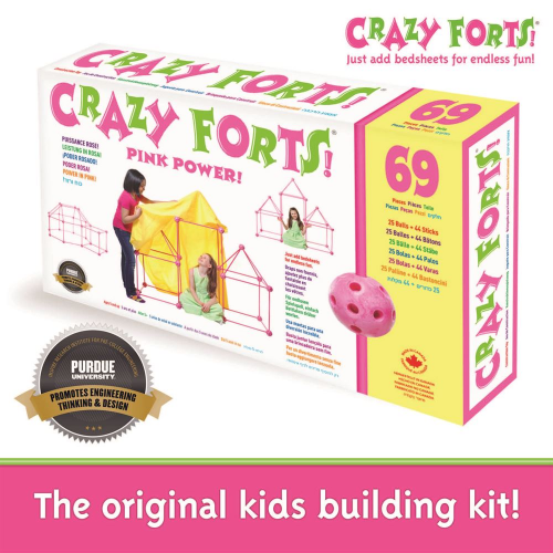 CRAZY FORTS - PINK