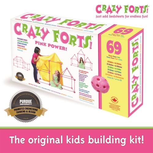 CRAZY FORTS - PINK (upc: 690396000045) (EA)