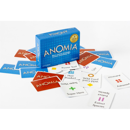 ANOMIA - CARD GAME (ages 10+) (EA)