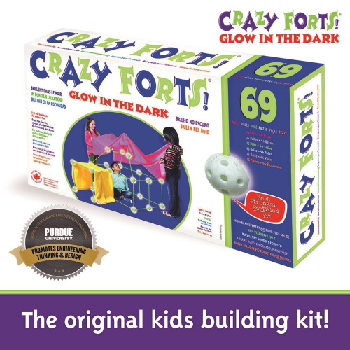 CRAZY FORTS - GLOW-IN-THE-DARK (upc: 690396000038) (EA)