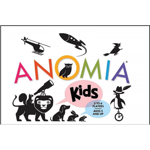 ANOMIA - KIDS- CARD GAME (ages 5+)