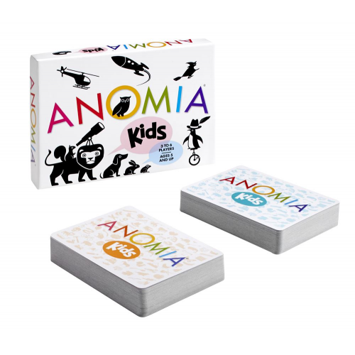 ANOMIA - KIDS- CARD GAME (ages 5+) (EA)